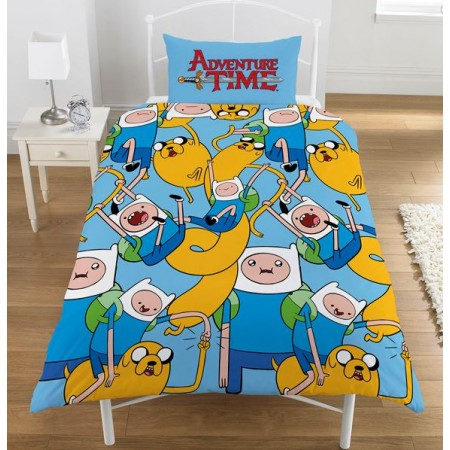 """Adventure Time"" dvipusis viengulis patalynės komplektas"