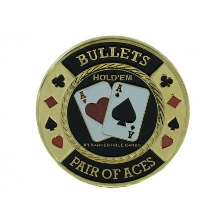 """Pokerio kortų saugas """"Bullets"""""""
