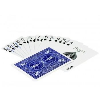 Bicycle Rider Standard pokerio kortos (Mėlynos)