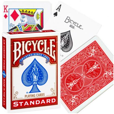 Bicycle Rider Standard pokerio kortos (Raudonos)