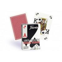 Fournier Poker Vision pokerio kortos (Raudonos)