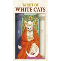 Taro Kortos Mini Tarot Of White Cats