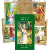 Taro Kortos Mini Tarot Of Druids