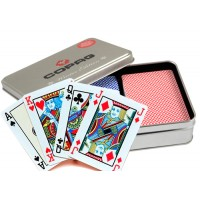 Copag Winter Edition dvi kortų kaladės specialioje dėžutėje