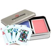 Copag Fall Edition dvi kortų kaladės specialioje dėžutėje