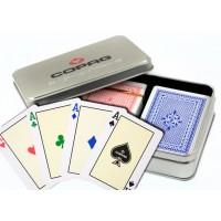 Copag Spring Edition dvi kortų kaladės specialioje dėžutėje