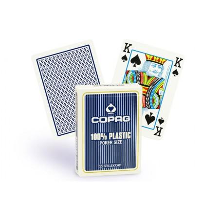 Copag Regular Index pokerio kortos (Mėlynos)