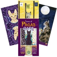 Taro Kortos Tarot Of Pagan Cats