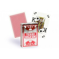 Copag Texas Hold'em Peek Index pokerio kortos (Raudonos)