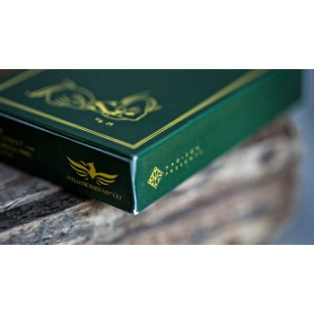 Ellusionist SWE Green Bicycle kortos