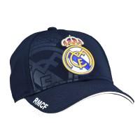 Real Madrid C.F. kepurėlė su snapeliu (Juoda)