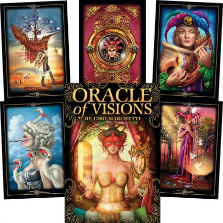 Oracle kortos Oracle of Visions