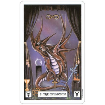 Taro kortos Dragon Tarot
