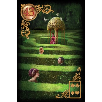 Oracle kortos Gilded Reverie Lenormand