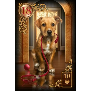 Oracle kortos Gilded Reviere Lenormand