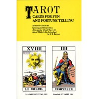 "Knyga ""Tarot Cards For Fun And Fortune Telling"""