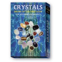 Rinkinys Crystals Kit Drops Of Colored Light Wellness Balance