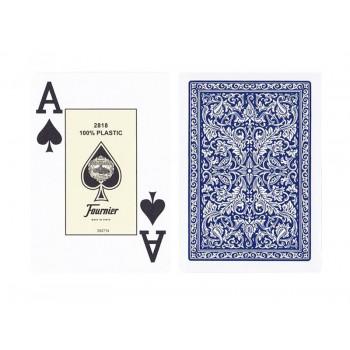 Fournier 2818 pokerio kortos (Mėlynos)