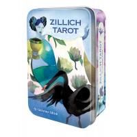 Taro kortos Zillich Tarot metalinėje dėžutėje