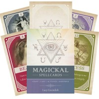 Oracle kortos Magickal Spellcards