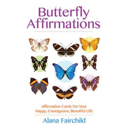 Butterfly Affirmations kortos