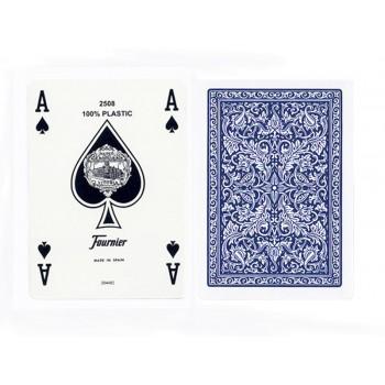 Fournier 2508 pokerio kortos (Mėlynos)