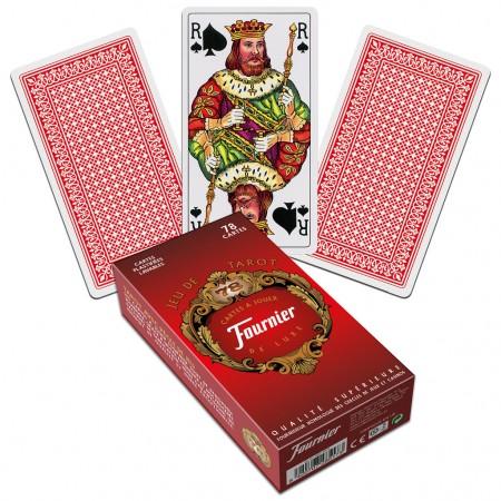 Taro kortos French Tarot (Raudonos)