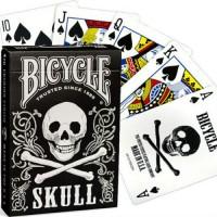 Bicycle Skull kortos