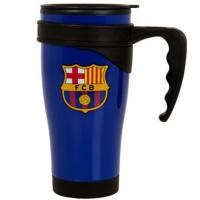 F.C. Barcelona kelioninis puodelis (Mėlynas)
