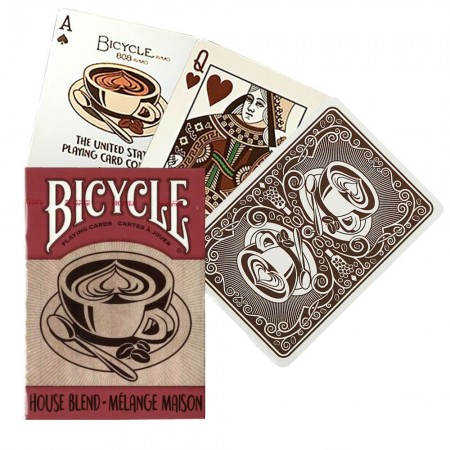 Bicycle House Blend kortos (Rudos)