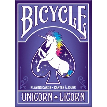 Bicycle Unicorn kortos
