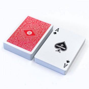 Copag 310 pokerio kortos (Raudonos)