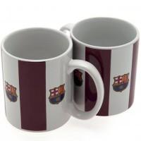 F.C. Barcelona puodelis (Dryžuotas)