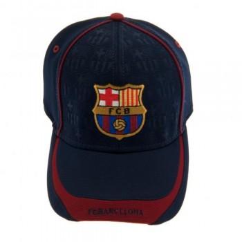 F.C. Barcelona kepurėlė su snapeliu (Išsiuvinėta)