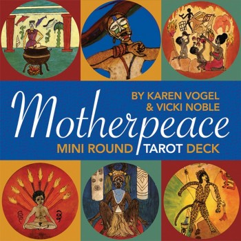 Taro kortos Mini Motherpeace Round