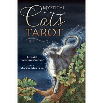 Taro Kortos Mystical Cats Tarot