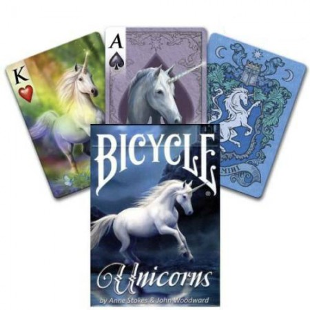 Bicycle Anne Stokes Unicorns kortos