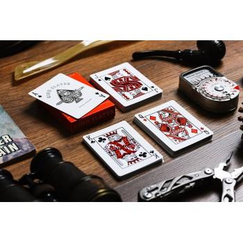 Ellusionist King Slayer kortos (raudonos)