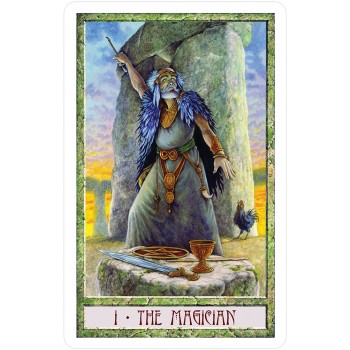Taro kortos The Druidcraft Tarot