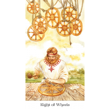 Tarot of the Golden Wheel kortos