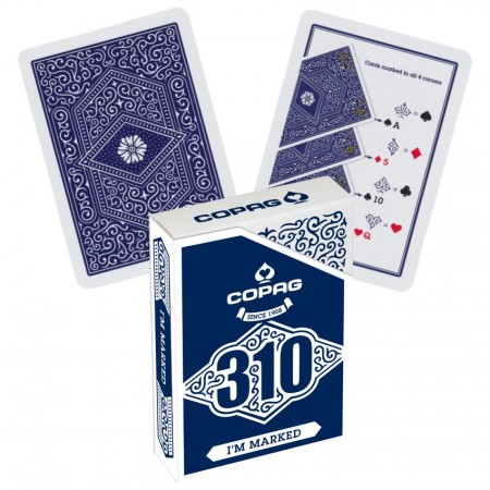 Copag 310 I'm Marked pokerio kortos (mėlynos)