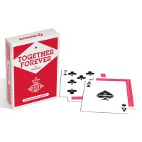Copag 310 Together Forever pokerio kortos (raudona)