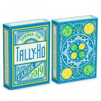 Bicycle Tally-Ho Summer Fan kortos