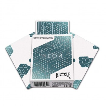 Bicycle Neon Cardistry kortos