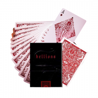 Ellusionist Madison Hellions Red Bicycle kortos