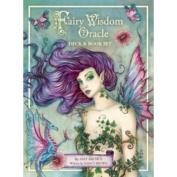 Oracle kortos ir knyga Fairy Wisdom