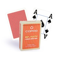 Copag 4 Corner pokerio kortos (Raudonos)