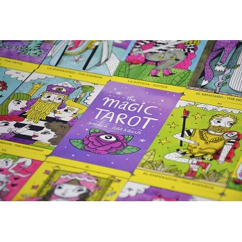 The Magic Tarot kortos
