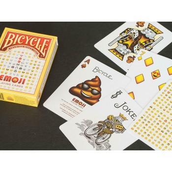 Bicycle Emoji kortos