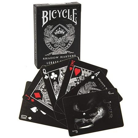 Ellusionist Shadow Masters Legacy Bicycle kortos